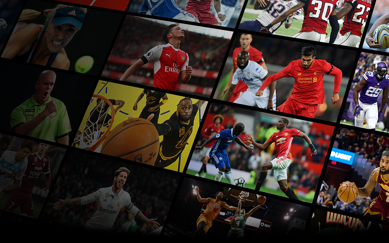 Image showing Premier League, Bundesliga, La Liga Santander, tennis, NFL, NBA stars and more