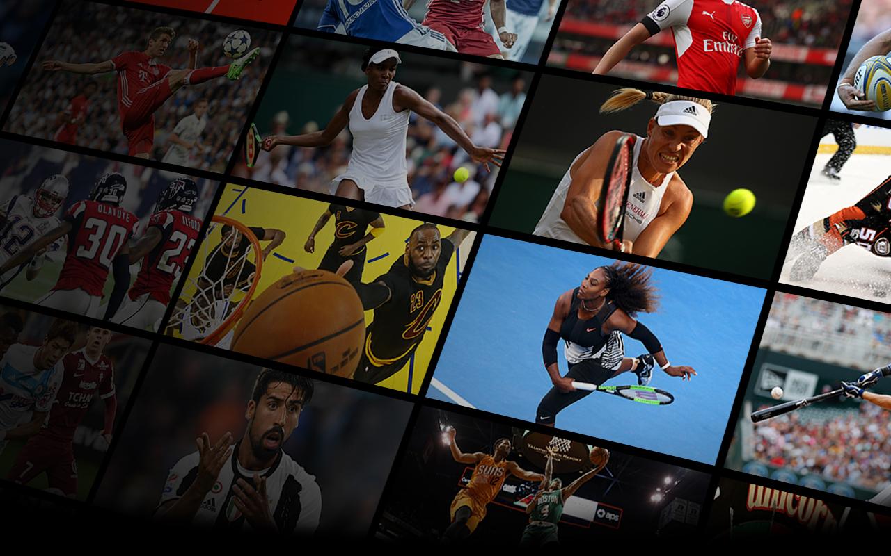 Image showing Premier League, Bundesliga, La Liga Santander, tennis, NFL, NBA stars and more
