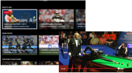 Image of a Phone and Tablet showing DAZN content